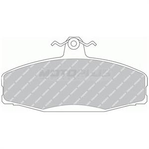 Obrázok pre výrobcu Brzdový segment (sada 4ks)