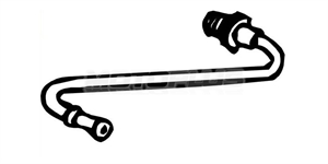 Obrázok pre výrobcu Tlakové vedenie, snímač tlaku (filter pevných častíc) Citroen, Peugeot, Fiat, Lancia